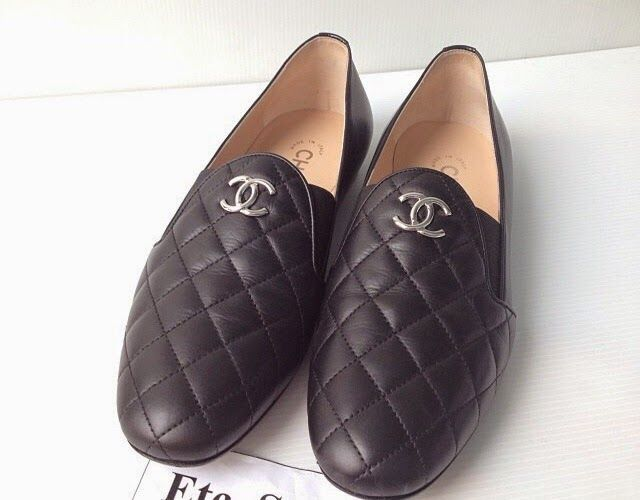 0e3a83019db4 CHANEL Loafers   Slippers with Logo - Price   Review