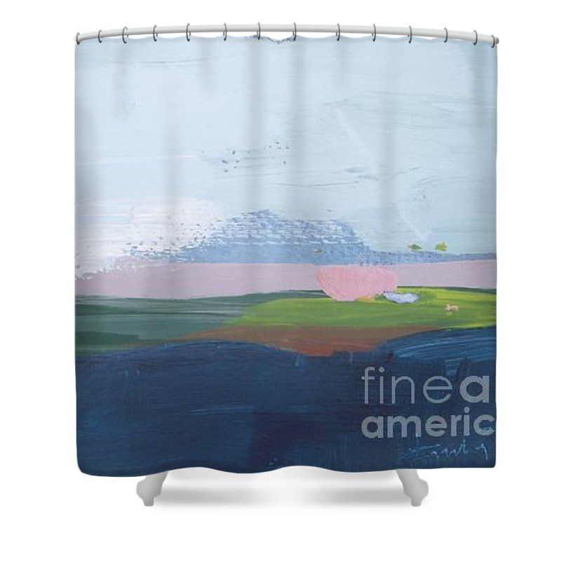Blue Lake Shower Curtain For Sale By Vesna Antic Curtains For