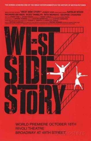 West Side Story Broadway Poster Masterprint Broadway Posters West Side Story West Side Story Broadway
