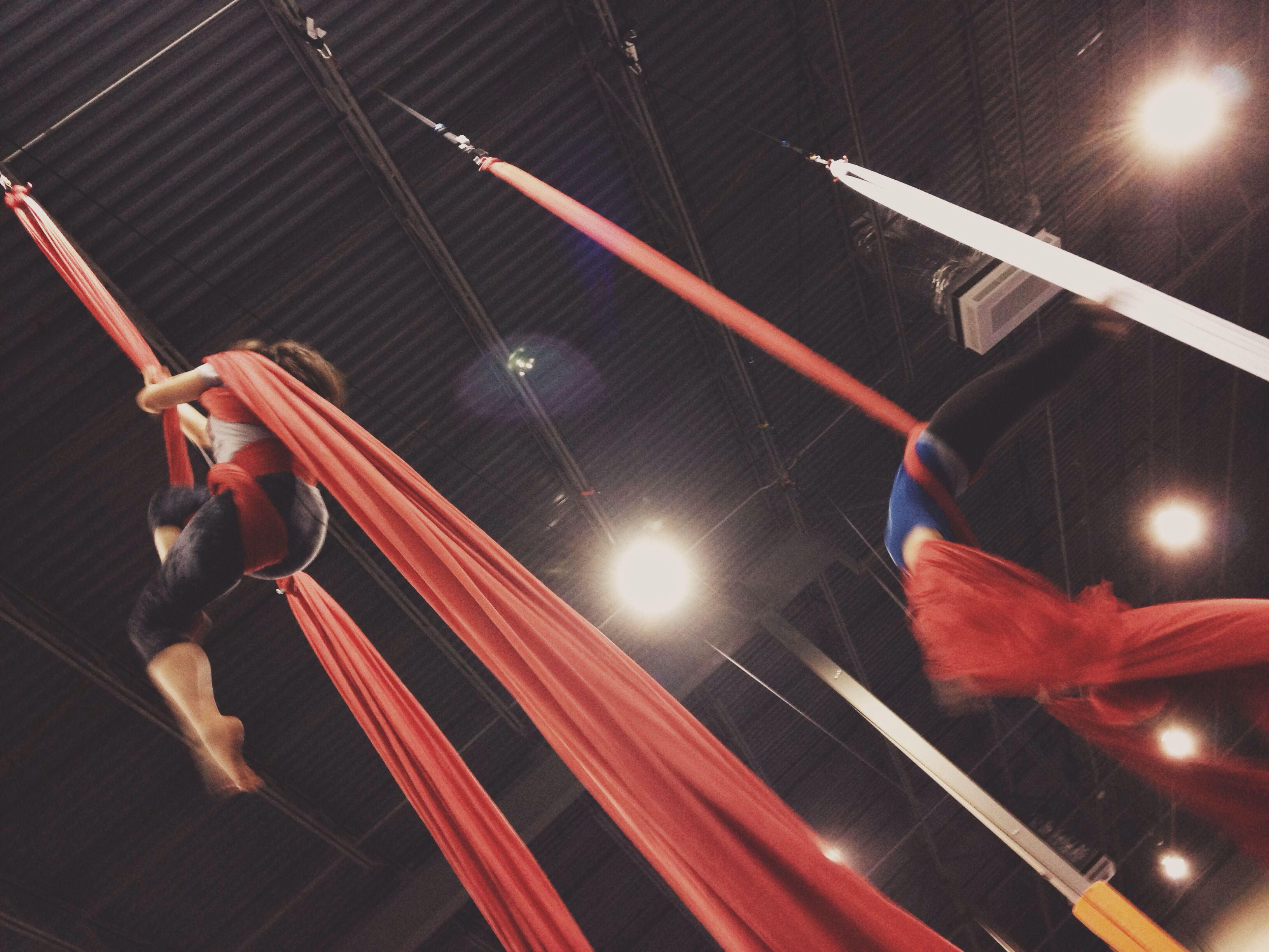 """Flying is learning how to throw yourself at the ground and miss."" #aerialsilks"