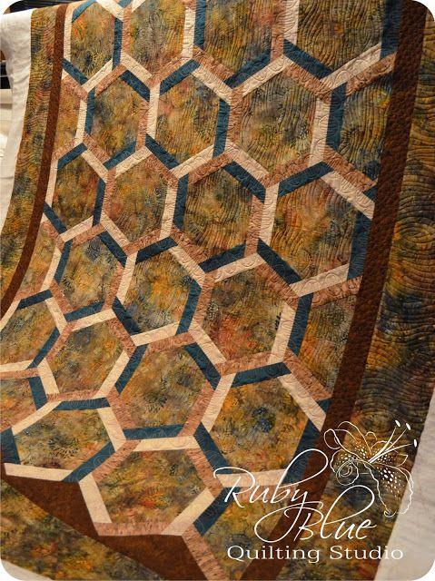Jeanne's Interlocking Hexagons