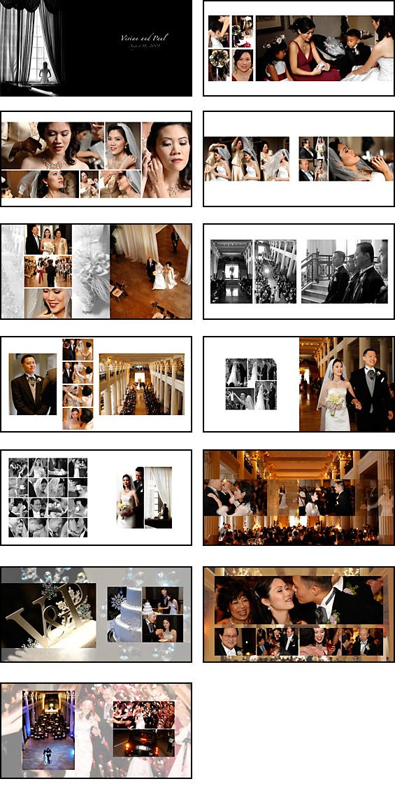 Free Wedding Album Templates | Wedding photography album ...