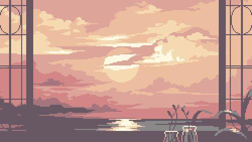 Pin By Death On Pixel Desktop Wallpaper Art Aesthetic Desktop Wallpaper Landscape Wallpaper