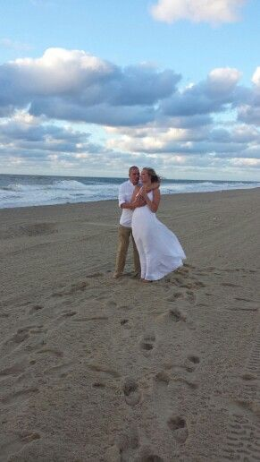 Beach Wedding Ocean City Maryland
