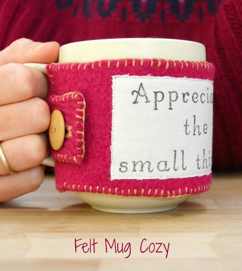 Its coming up to the time of year to be thinking about thank you gifts for teachers. It's nearly winter so I thought it would be fun to come up with a practical gift which combines upcycling with keeping mugs of tea warm whilst on playground duty… hence the upcycled felt mug cozy:) To make your …