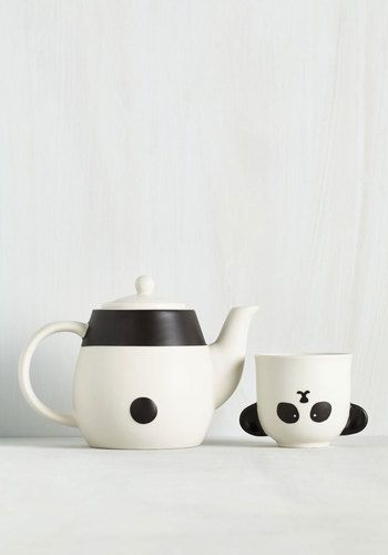 Perfect Your Cup Collection Is Already Wildly Winsome, And This Panda Tea Set Only  Heightens Its