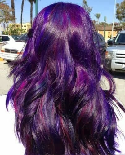 purple hairspiration | hair dreams | Pinterest | Hair coloring, Hair ...