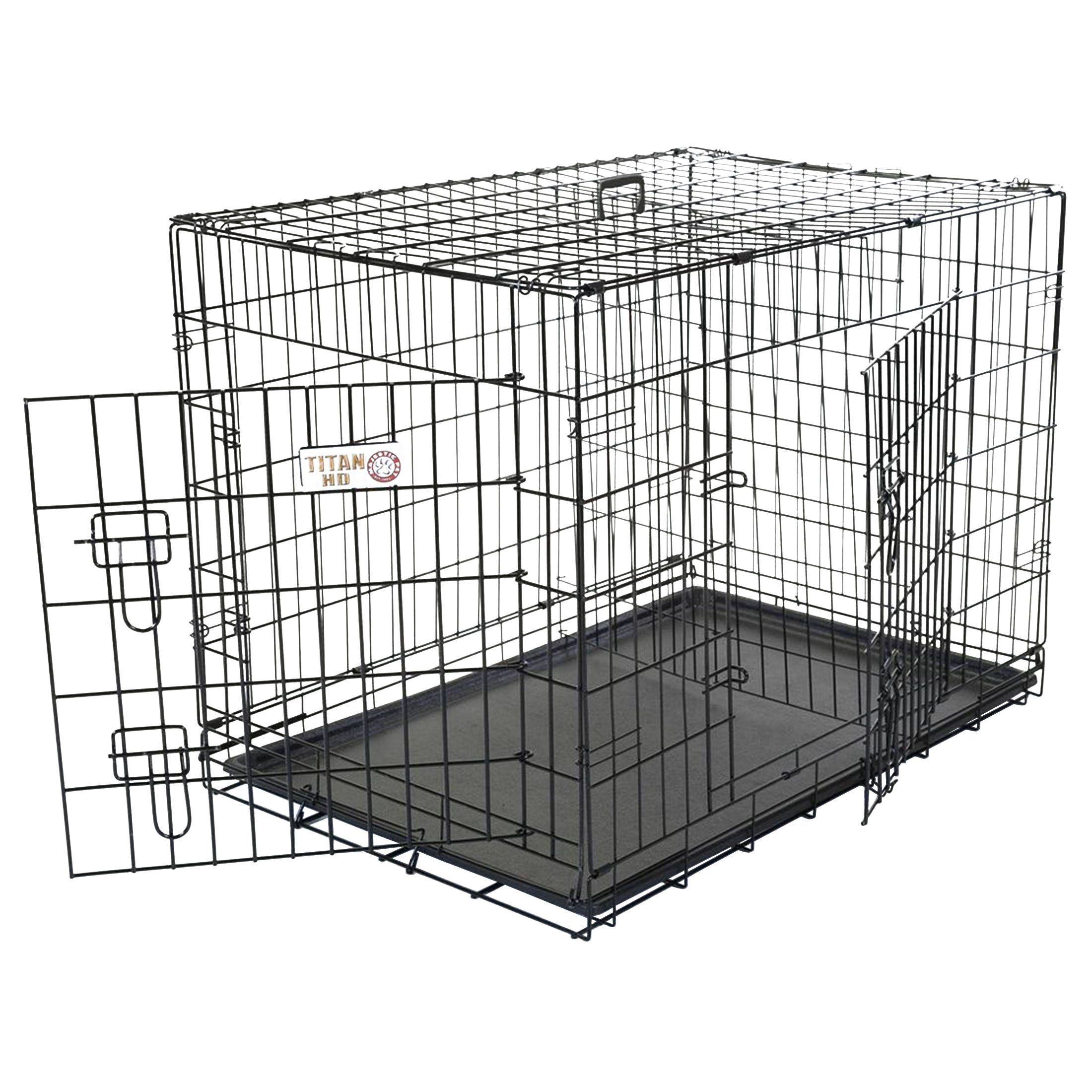 Small Dog Crate Majestic Pet 30 Inch Double Door Folding Dog Crate By Products Medium Examine This Outstanding Folding Dog Crate Large Dog Crate Dog Crate