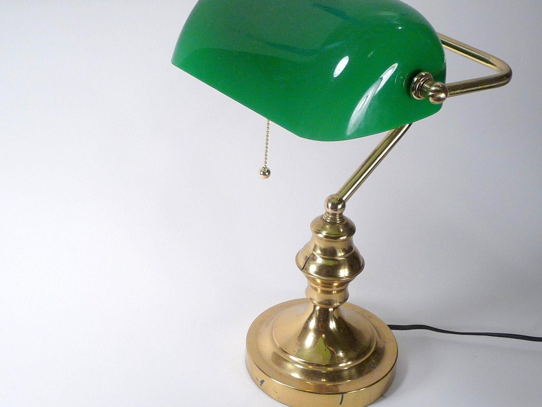 Antique brass bankers desk lamp httpi12manage pinterest antique brass bankers desk lamp aloadofball Images