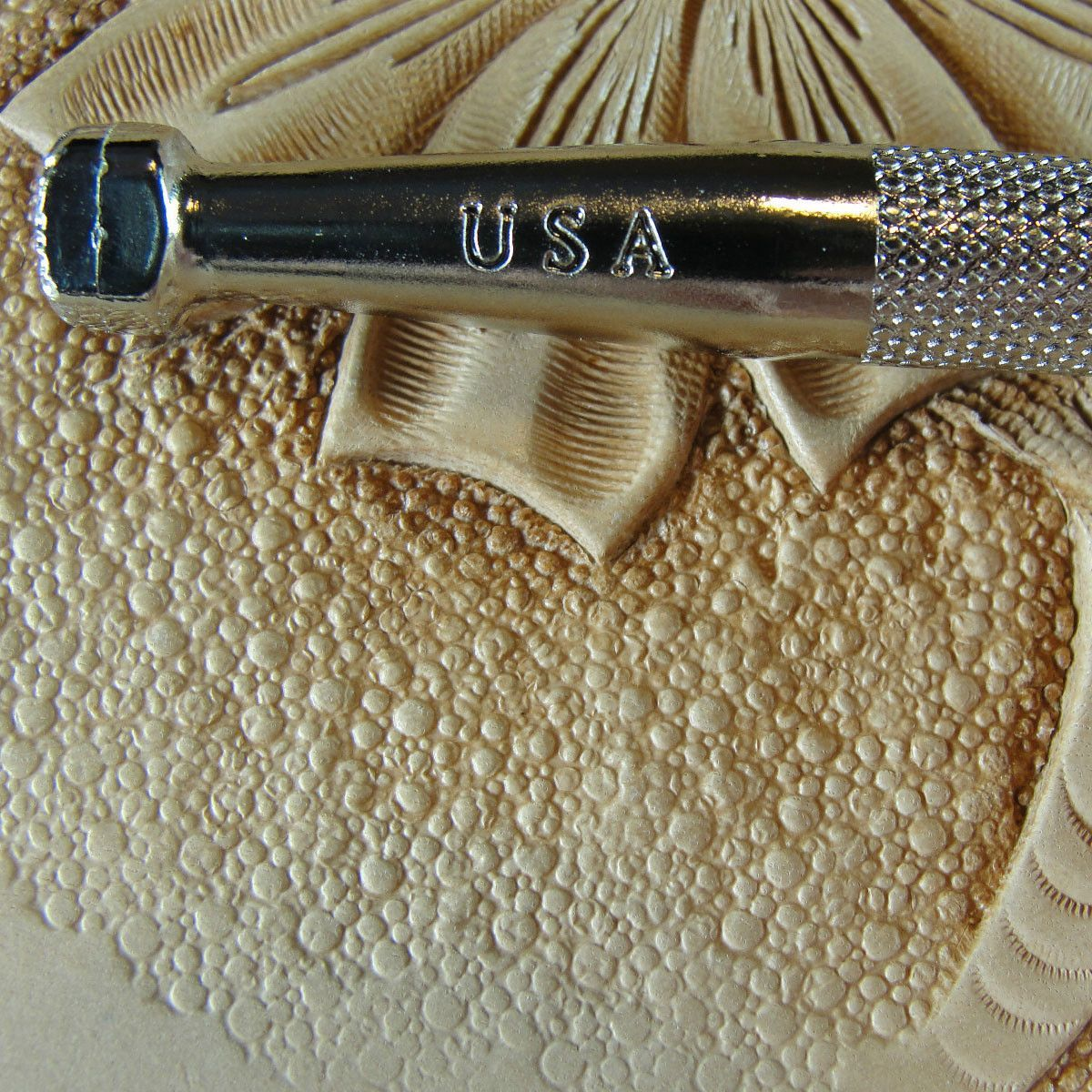 Medium Pebble Matting Texture Leather Working Tools Leather Craft Tools Leather Craft