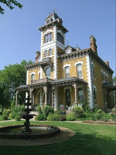 The Lebold Mansion Is A 23 Room Victorian Italianate Home