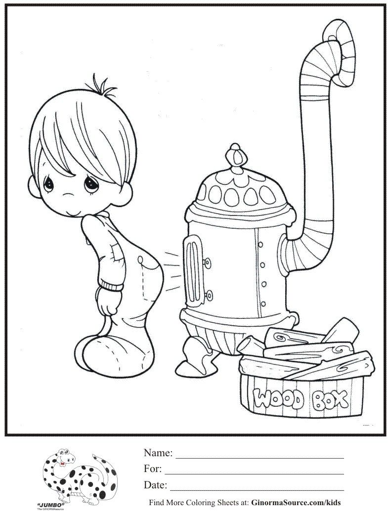 Spent Many A Winter Day Doing This As A Child Lol Precious Moments Coloring Pages Angel Coloring Pages Coloring Pages