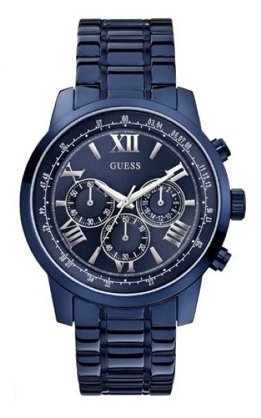 1dcdb459625 92526GPGDEA4 Relógio Masculino Guess IP Blue