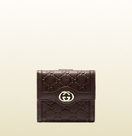 3dbd7aeb49e1 Gucci Sukey Guccissima Leather French Flap Wallet on shopstyle.com ...
