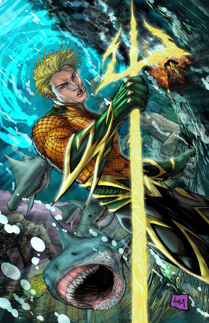 Comic Aquaman Fan Art