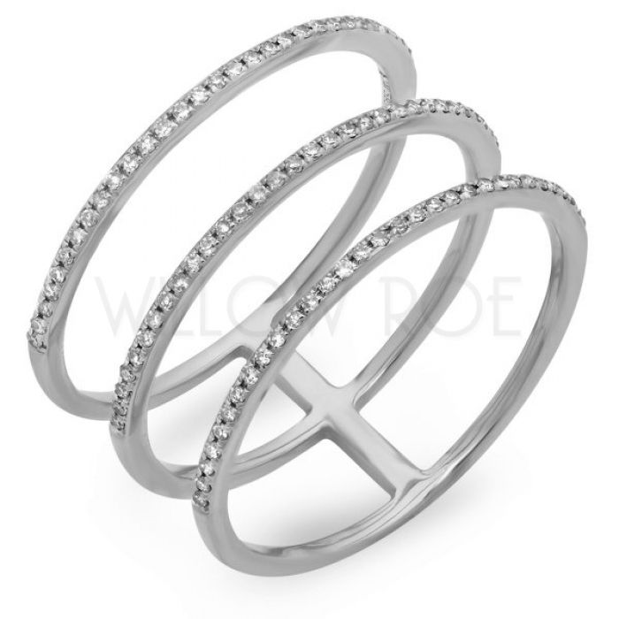 rings spacer ring banded wedding three thinny band pin and diamond bands triple