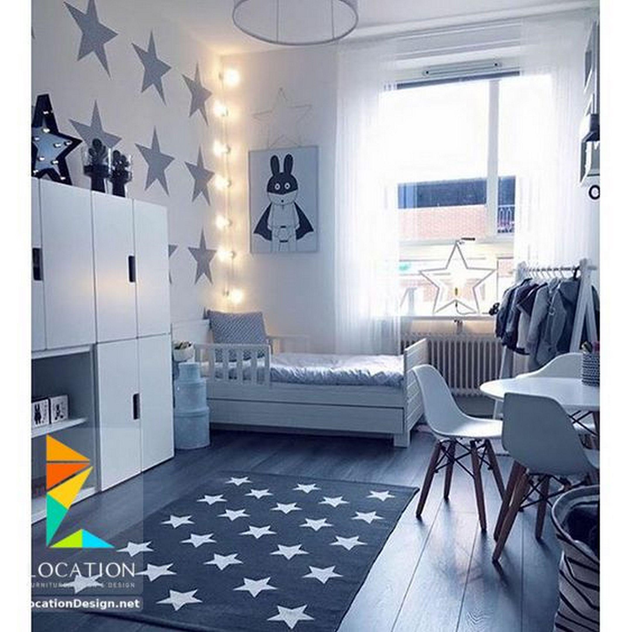 أحدث ديكورات دهانات غرف نوم اطفال مودرن Toddler Rooms Kids