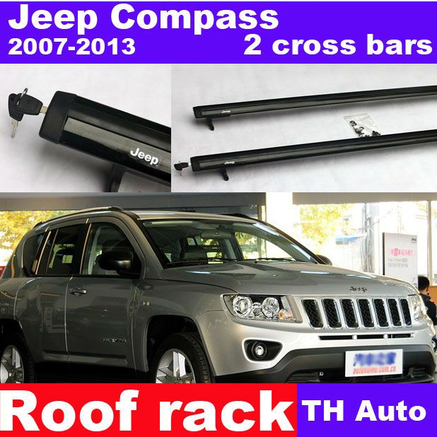Compass Roof Rack Cross Bar For Jeep Compass 2007 2013 60 80 Roof Rack Car Roof Racks Jeep Compass