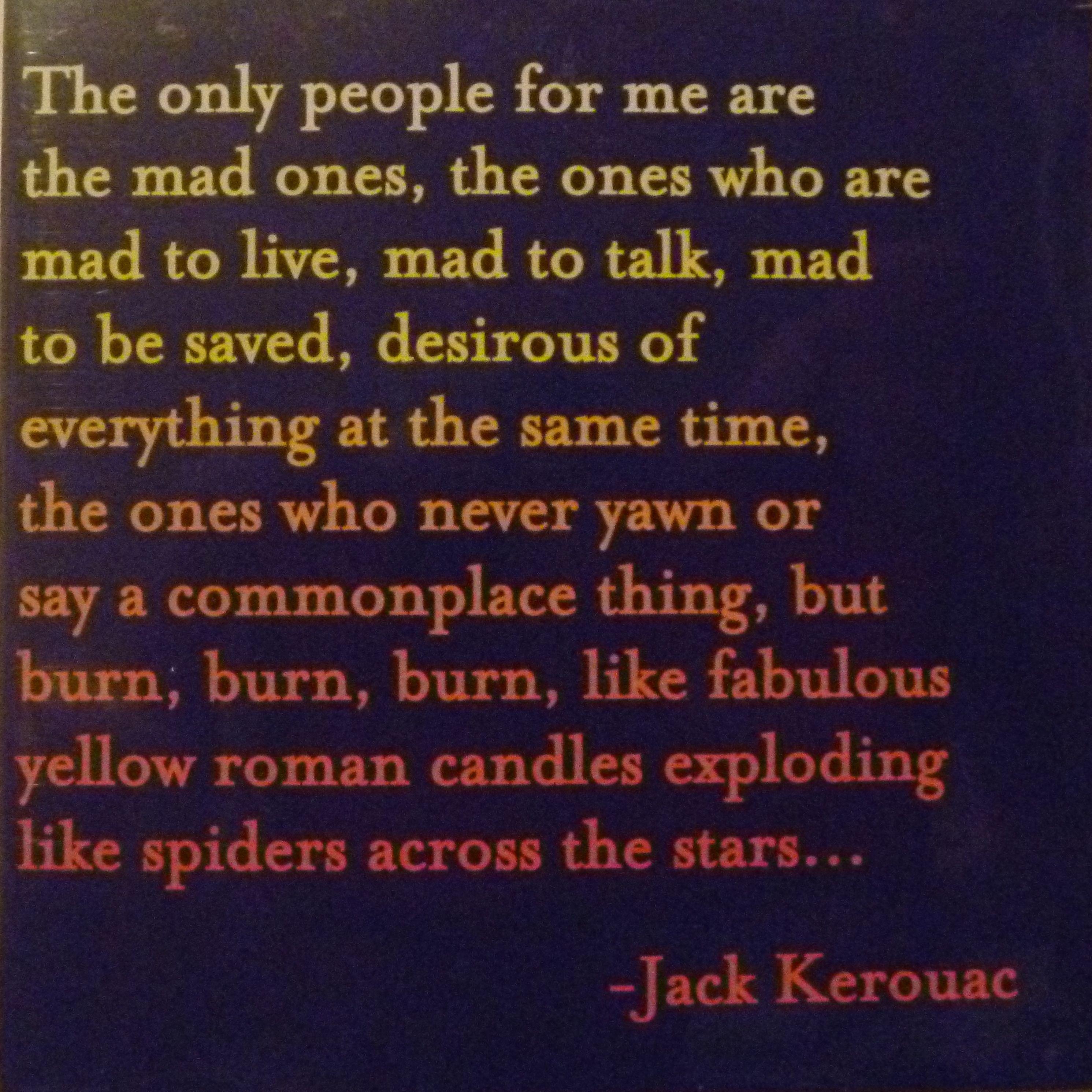 Elegant The Stars   Jack Kerouac Quotable Cards
