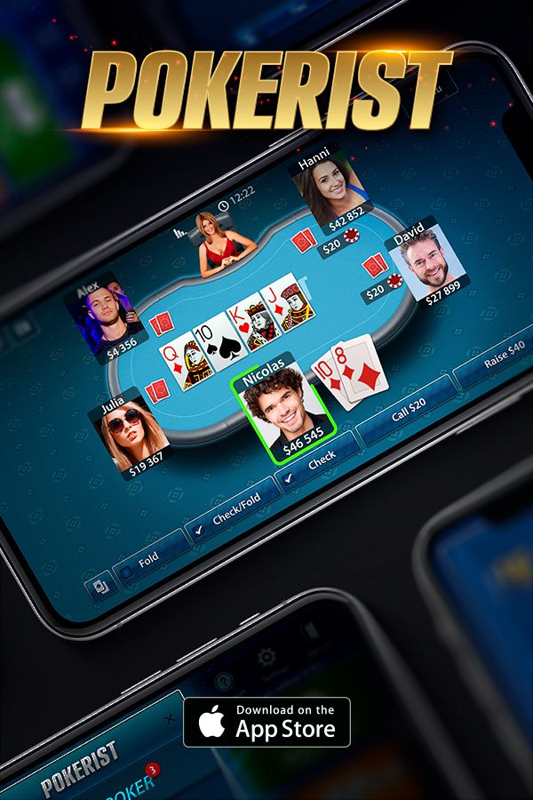 Who will you meet at the poker table? Download Pokerist