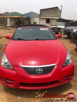 Tokunbo 2007 Toyota Camry Solara convertible for sale in