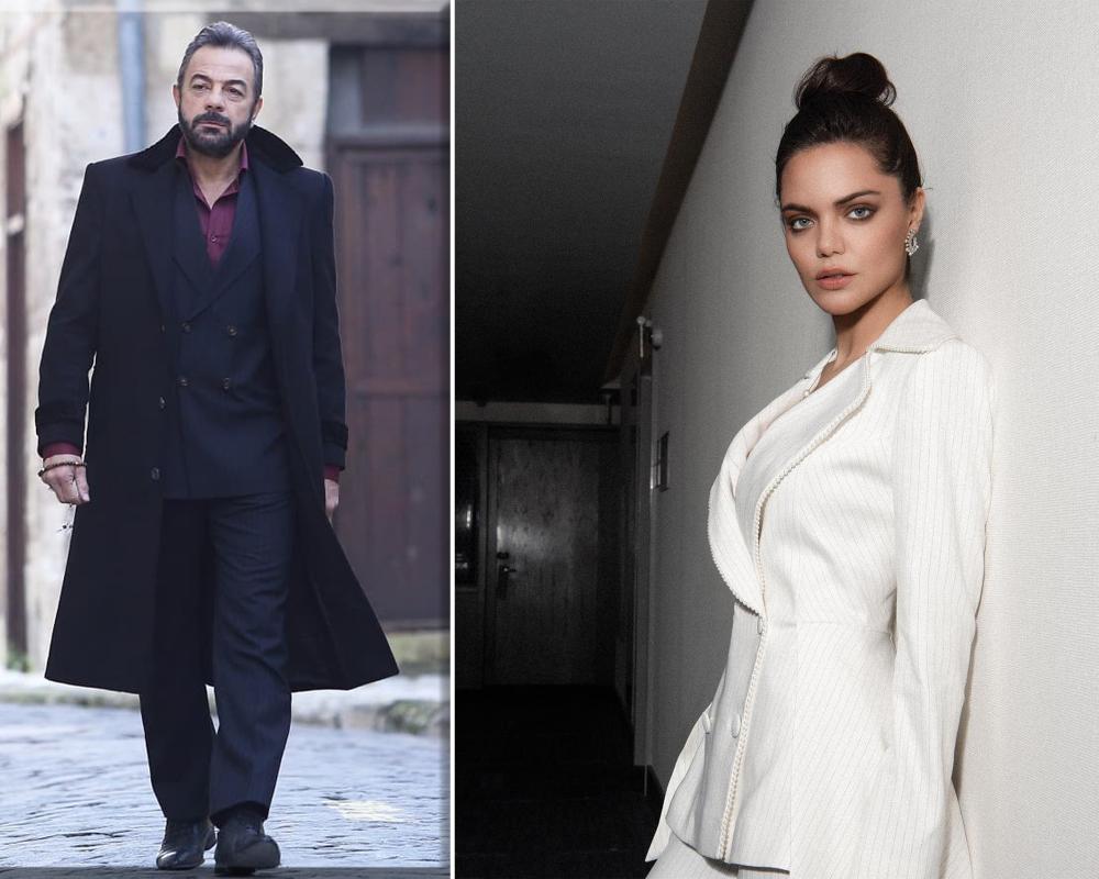 Hilal Altinbilek Fashion Coat Turkish Actors