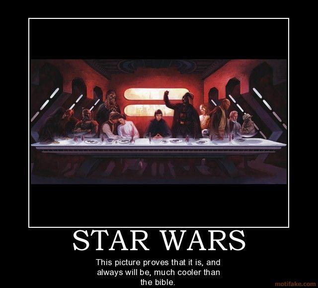 Funny star wars demotivational