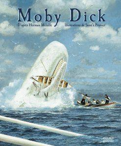 Moby Dick compte parmi les grands classiques de la littérature jeunesse qui fascinent et continuent de séduire les lecteurs. Cet ouvrage est une adaptation d'après l'œuvre d'un célèbre écrivain du XVIIIIe siècle, Herman Melville. Ce grand classique raconte la merveilleuse et terrible expédition menée par un capitaine enragé pour capturer et tuer la mythique baleine blanche Moby.