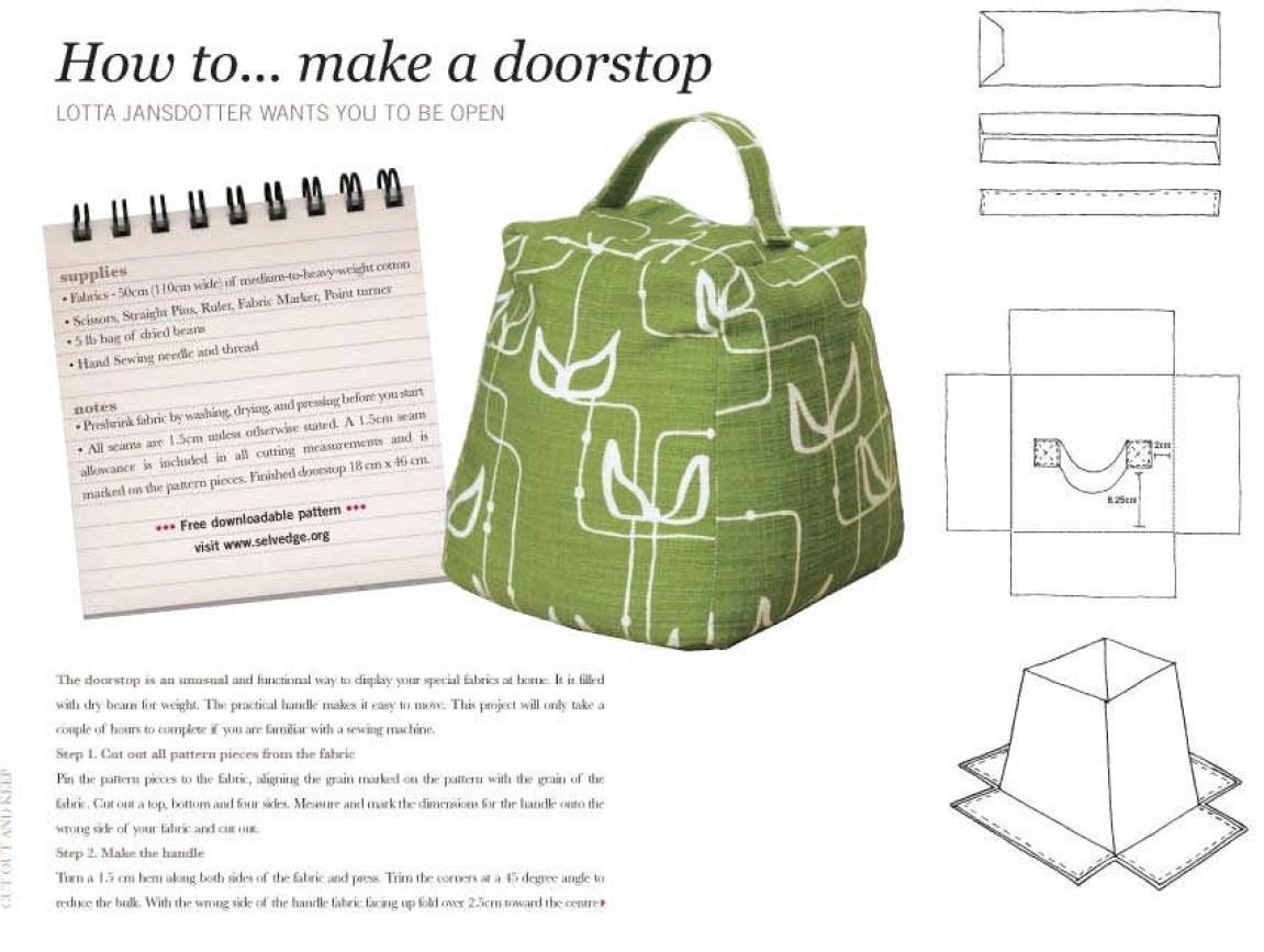 clever door stop idea | CAJAS HERMOSAS | Pinterest | Topes, Tope de ...