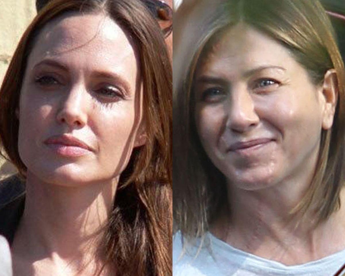 Consider, that Angelina jolie jennifer aniston porn interesting