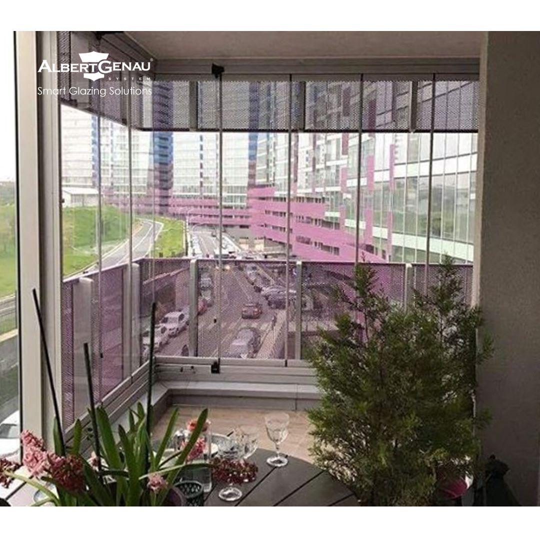 High Rise Apartment Balcony
