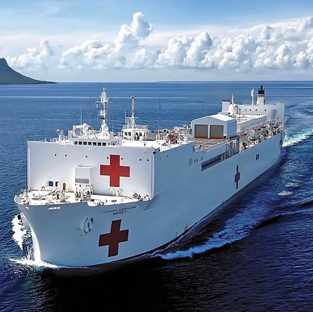 Mayor Eric Garcetti On Instagram The Usns Mercy Is Headed To The Portofla To Help Provide Medical Care To Angelenos Duri In 2020 Orange County San Pedro Los Angeles