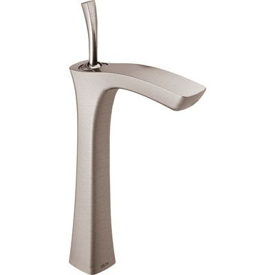 Delta Tesla Single Hole Vessel Faucet Finish: Brilliance Stainless
