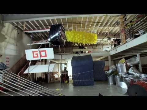 OK Go's Rube Goldberg invention