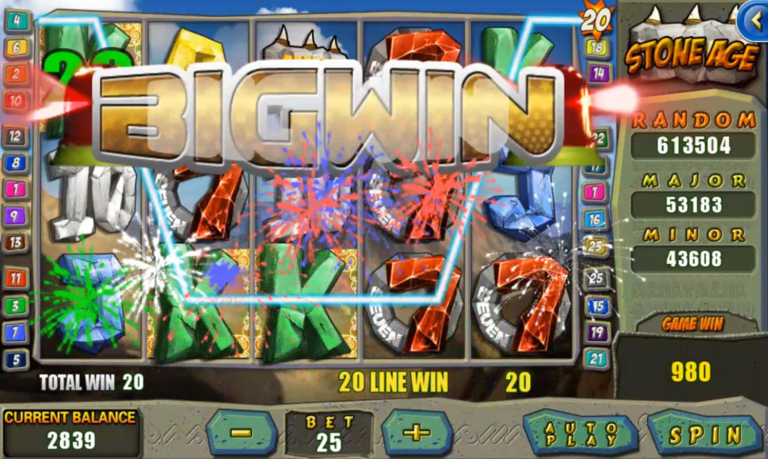 Stone Age Slot Game Ini Amat Menarik Sebab Wild Cardnya Hebat Apabila Dapat Wild Card Ia Memohon Kepada 1 Garis Ja Free Slot Games Online Casino Slots Games