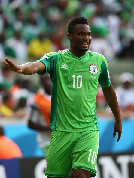 John Obi Mikel of Nigeria | Mikel obi, Olympic team, Rio olympics