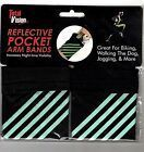 TOTAL VISON Reflective Pocket Arm Bands - New in Package!   Jogging ...  Running #Fitness #armbandwo...