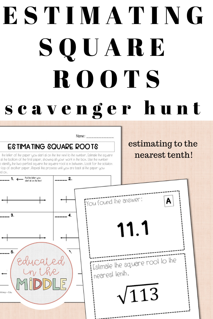 Estimating Square Roots Activity Estimating Square Roots Square Roots Activity Square Roots [ 1102 x 735 Pixel ]