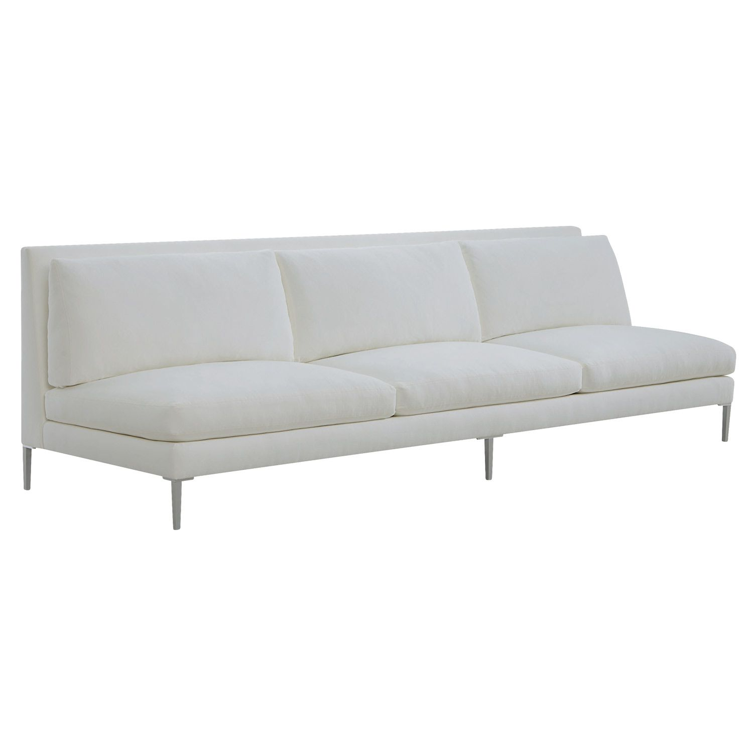 couch piece sofa cresson sectional products and item number armless chaise benchcraft contemporary with