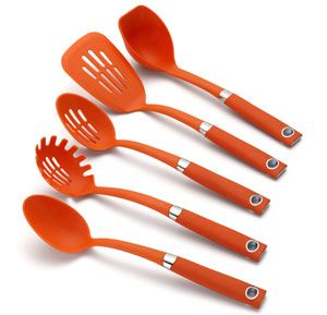 Kitchen Tools One Spot  Rachael Ray Tools 5Piece Softgrip Tool New Kitchen Items Design Inspiration