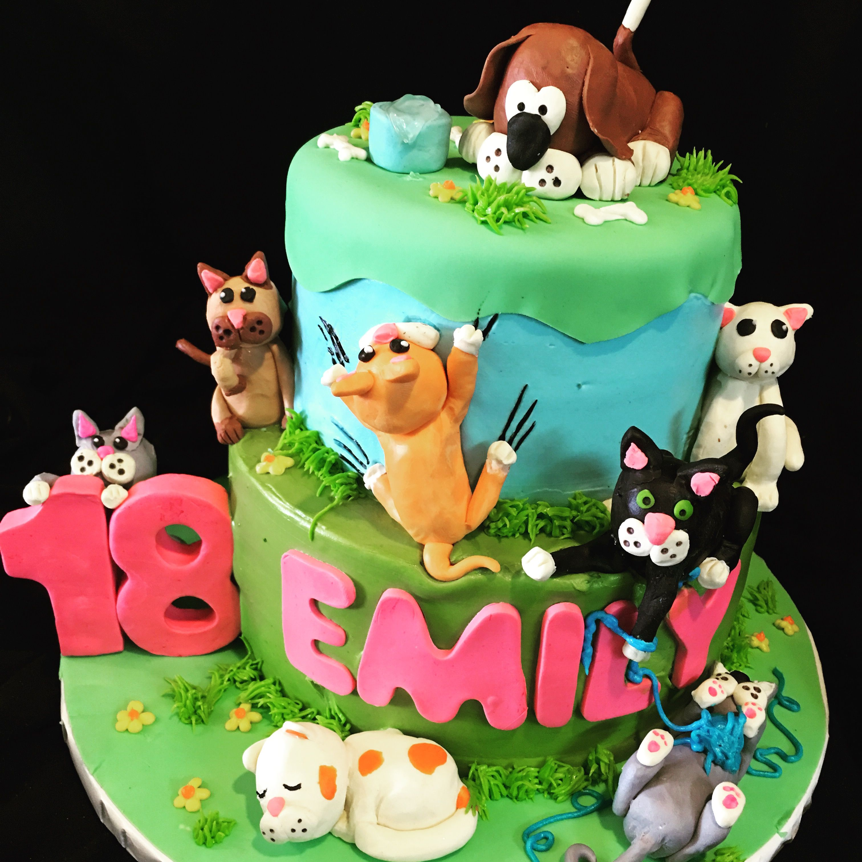 A Birthday Cake For The Animal Lover The Sweetspot Bakehouse