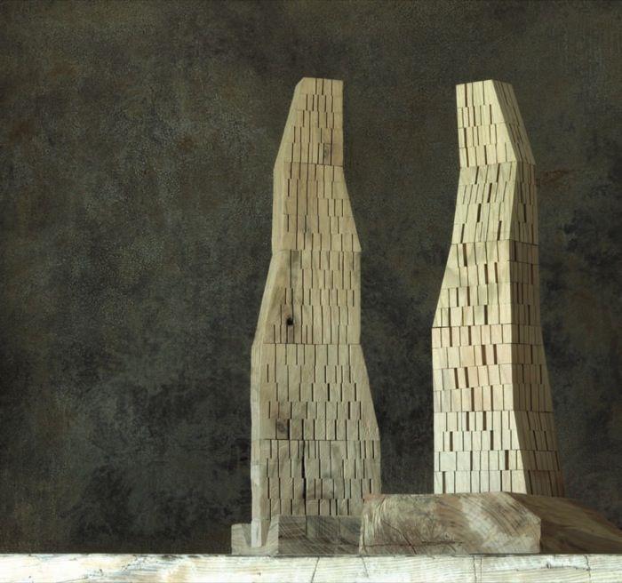 Architectural models by Michele de Lucchi