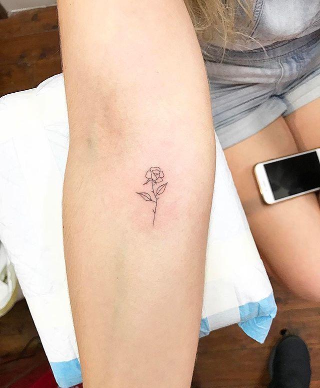 Tatuagem Pequena, Tatuagem Simples