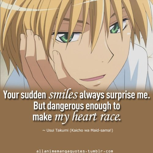 Usui, you're one of the best anime/manga guys ever.