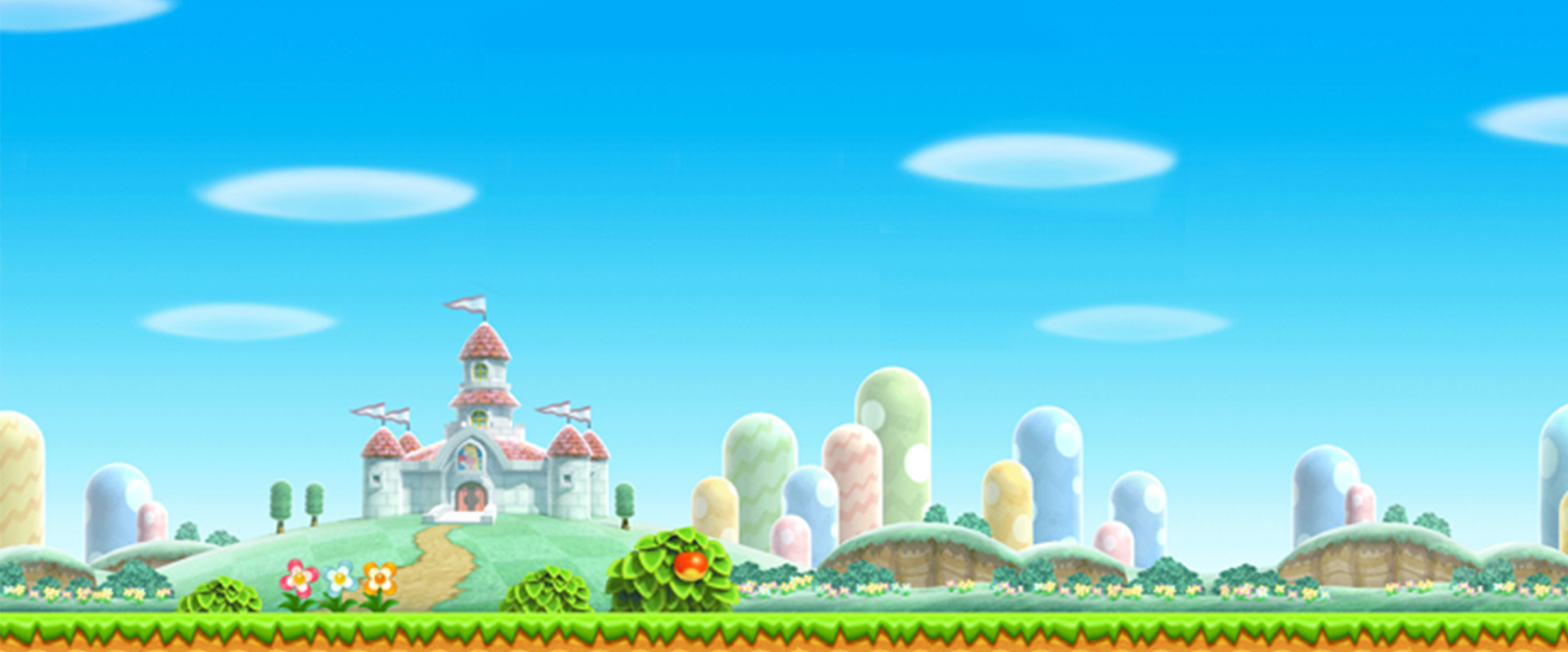 New Super Mario Bros Wii Full Hd Wallpaper And Background Image