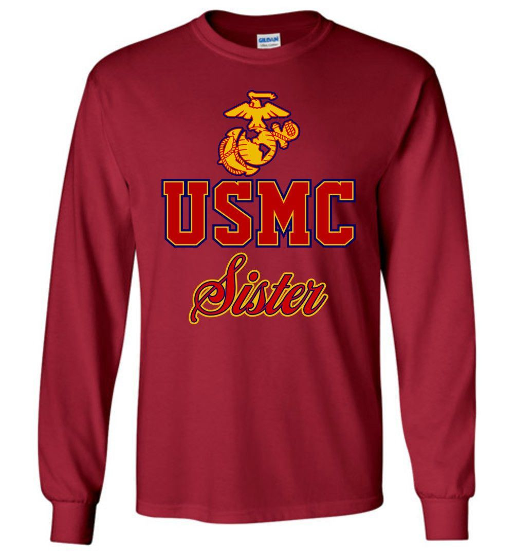 USMC Sister Long-Sleeve T-Shirt