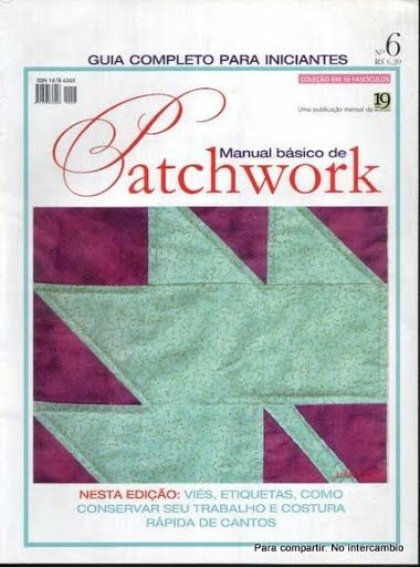 Manual Basico de Patchwork 6 - Lourdes Perez - Álbuns da web do Picasa