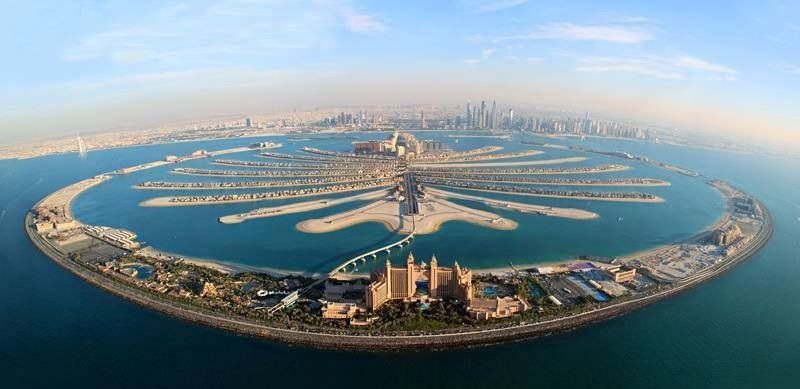 Tourism Palm Beach Dubai United Arab Emirates Dubaï Pinterest