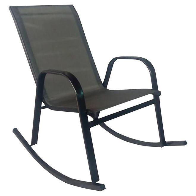 Astonishing Henryka Rocking Patio Chair Dark Grey Dxf 3235 Dk Grey Evergreenethics Interior Chair Design Evergreenethicsorg