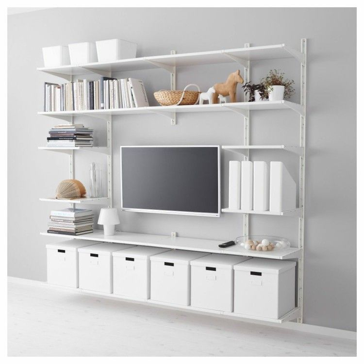 new product 59f22 20a0f IKEA TV furniture and shelving systems | Projects | Wall ...